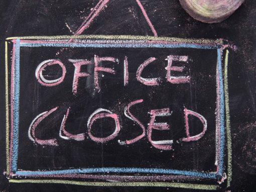 Gemeindebüros schließen zum 30. April