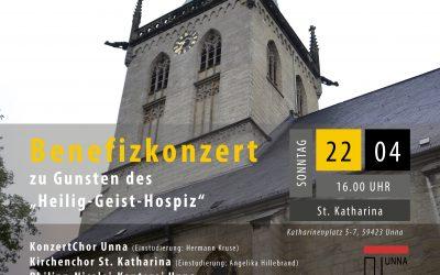 """Benefizkonzert in St. Katharina zu Gunsten des """"Heilig-Geist-Hospiz"""""""