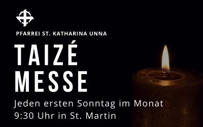 Taizé-Messe in St. Martin