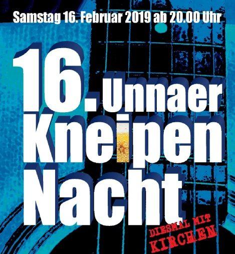 16. Unnaer Kneipennacht – diesmal auch in St. Katharina