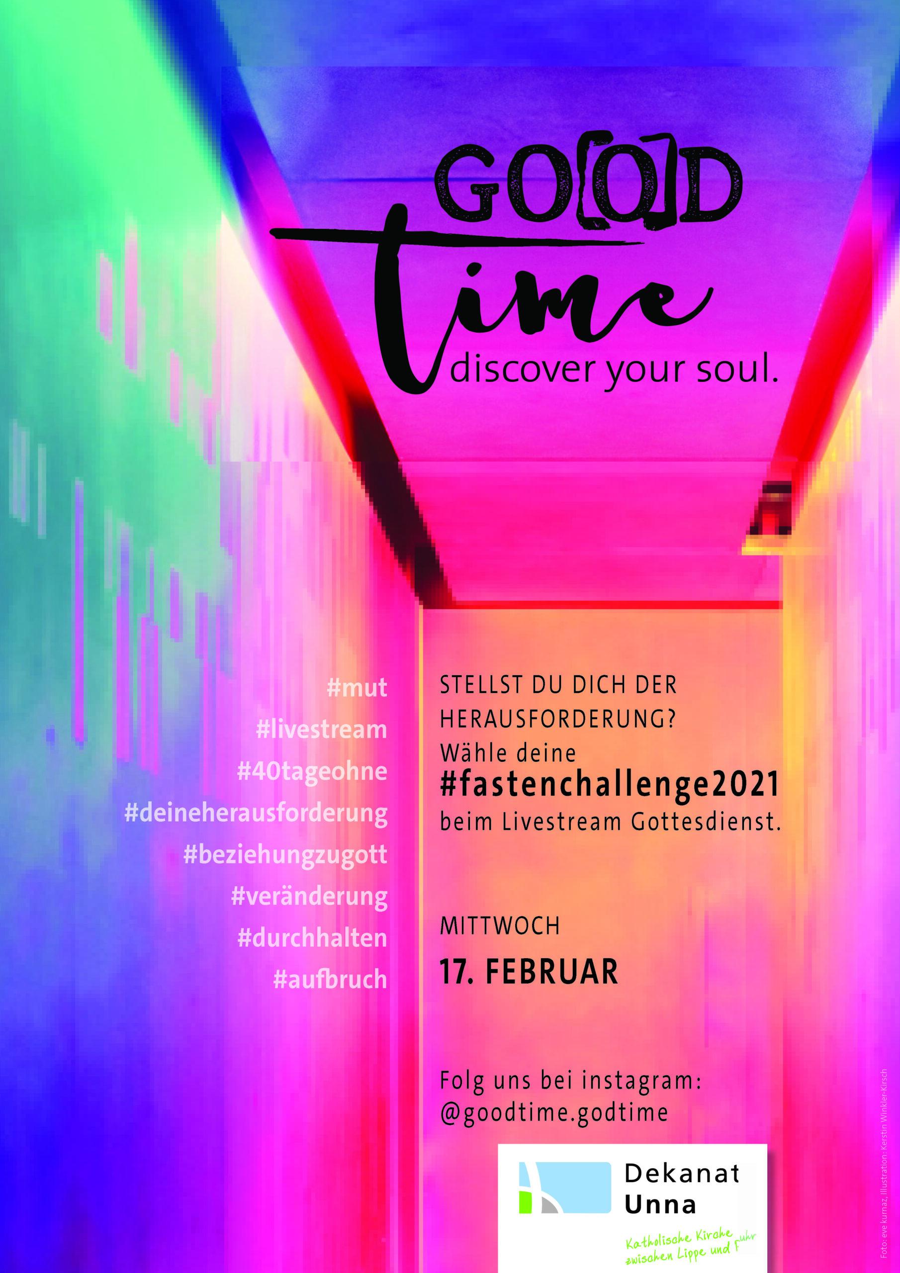 Go(o)d time – #fastenchallange für Jugendliche und junge Erwachsene