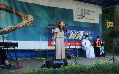 Rückblick auf den ökumenischen Gottesdienst im Freibad Bornekamp