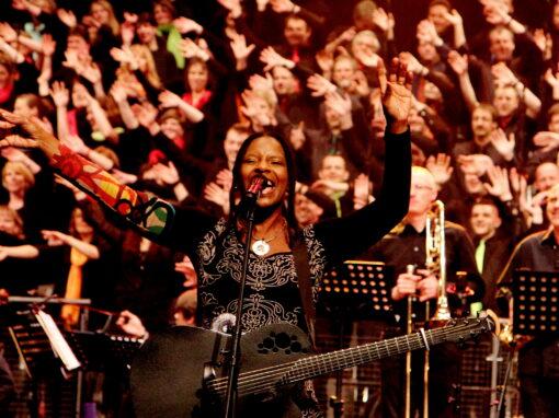 Workshop und Konzert mit Judy Bailey in der Katharinenkirche
